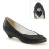 LULU-05 Black Faux Leather